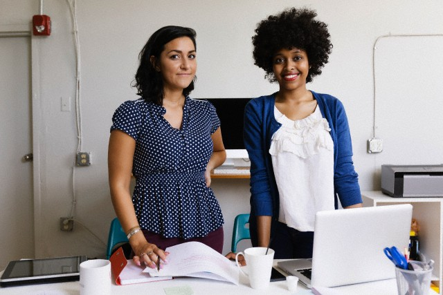Female colleagues in Small Business, Start-up